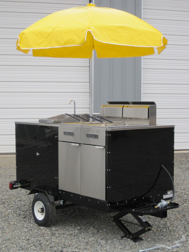 Custom Deep Fryer Cart