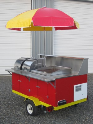 Boomin Hot Dog Cart