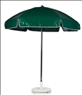 FOREST GREEN CART UMBRELLA