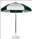 FOREST & WHITE CART UMBRELLA