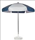 NAVY & WHITE CART UMBRELLA
