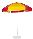 RED & YELLOW CART UMBRELLA