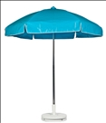 TURQOISE CART UMBRELLA